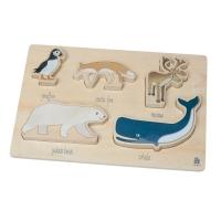 Sebra Holzpuzzle, Arctic Animals