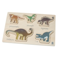 Sebra Holzpuzzle, Dino