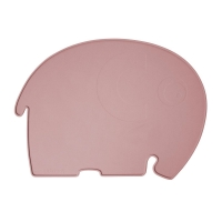 Sebra Silikon Platzdeckchen, Elefant, Mitternacht Pflaume