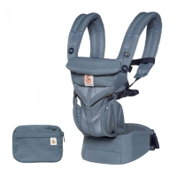 Ergobaby Omni 360-Babytrage, Cool Air Mesh - Oxford Blue