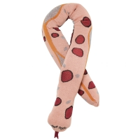 Ferm Living Kissen, Fruticana Snake - Rose