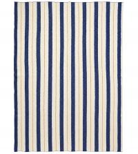 Ferm Living Pinstripe Decke - Blue