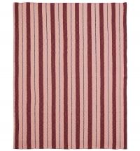 Ferm Living Pinstripe Decke - Rose