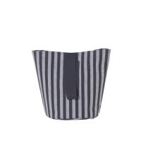 Ferm Living Wäschekorb Chambray Striped, klein