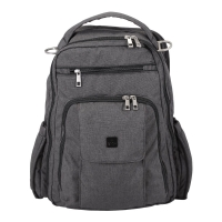Ju-Ju-Be Be Right Back Wickelrucksack, Chrome