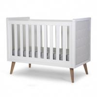 Childhome Babybett Retro Rio 120x60cm, Weiss