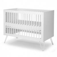 Childhome Babybett Ironwood White 120x60 cm