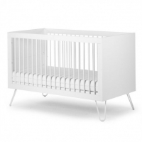 Childhome Babybett Ironwood White 140x70 cm