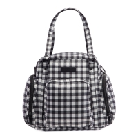 Ju-Ju-Be Be Supplied Brustpumpe Tasche, Gingham Style