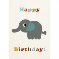 Rex London Geburtstagskarte, Elephant