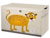 3 Sprouts Aufbewahrungskiste, Leopard