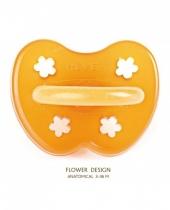 Hevea Schnuller, Blume, ab 3 Monaten (Kiefergerecht)