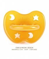 Hevea Schnuller, Sterne & Mond, 0-3 Monaten (Kiefergerecht)