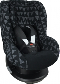 Dooky Kindersitzbezug Gruppe 1 - Black Tribal