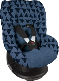 Dooky Kindersitzbezug Gruppe 1 - Blue Tribal