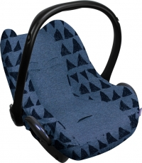 Dooky Babyschalenbezug - Blue Tribal