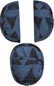Dooky Universal Pads, Blue Tribal