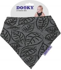 Dooky Dreieckstuch Grey Leaves