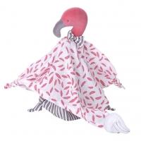 Kikadu Schmusetuch, Flamingo