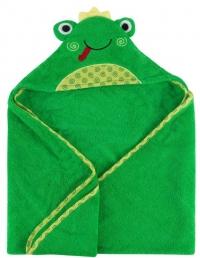 Zoocchini Baby Kapuzenbadetuch - Flippy der Frosch