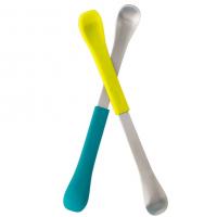 Boon 2-in-1 Kinderlöffel Swap, blau/ grün