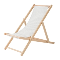 Bloomingville Deck Chair Gartenstuhl, Braun