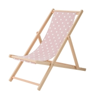 Bloomingville Deck Chair Gartenstuhl, Rose