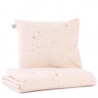Nobodinoz Kinderbettwäsche Himalaya, Gold Stella/ Dream Pink