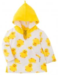 Zoocchini Frotte-Kapuzenshirt - Puddles der Ente