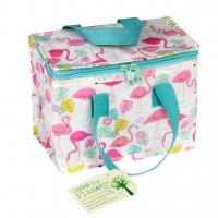 Rex London isolierte Tasche Lunch Bag - Flamingo Bay