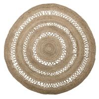 Bloomingville Teppich aus Jute, 180 cm