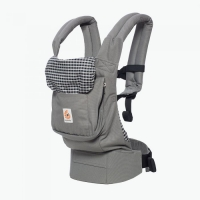 Ergobaby Babytrage Original, Steel Plaid