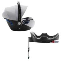 Britax Römer Baby-Safe 2 i-Size inkl. Flex-Base, Nordic Grey 2020