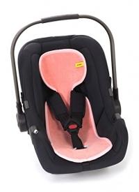 AeroMoov Air Layer, Sommer-Sitzeinlage für Kindersitz Gr. 0+ - Flamingo