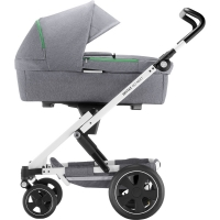 Britax Go Next Kinderwagen, Dynamic Grey mit weissem Gestell 2018