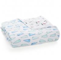 Aden Anais x Natchie Kuscheldecke Dream Blanket - Whales + Boats