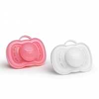 Herobility HeroPacifier Schnuller, rosa, +6 M. - 2er Pack