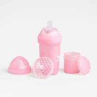 Herobility Schoppenflasche HeroBottle 240ml, +2 M. - Pink