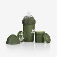 Herobility Schoppenflasche HeroBottle 240ml, +2 M. - Green