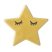 Bloomingville keramischer Magnet, Stern