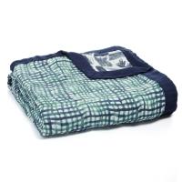 Aden Anais Kuscheldecke Silky Soft Dream Blanket, Seaport - Net