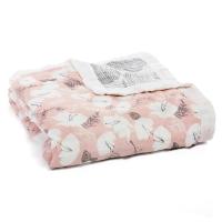 Aden Anais Kuscheldecke Silky Soft Dream Blanket, Pretty Petals - Soft Petals
