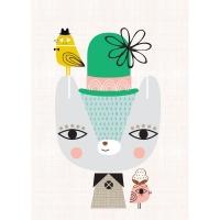 Petit Monkey Poster, Thierry der Bär