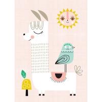 Petit Monkey Poster, Lama Sonnenschein