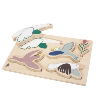 Sebra Holzpuzzle, Singing Birds