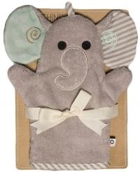 ZOOCCHINI Waschhandschuh, Ellie der Elefant