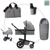 JOOLZ Day3 Kinderwagen Graphite Grey 2019 - 3KH Special Set