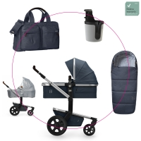JOOLZ Day 3 Kinderwagen, Midnight Blue 2019 - 3KH Special Set