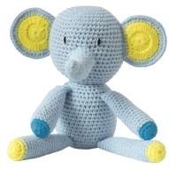 Global Affair Kuscheltier Elefant, blau