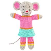 Global Affair Kuscheltier Maus, rosa